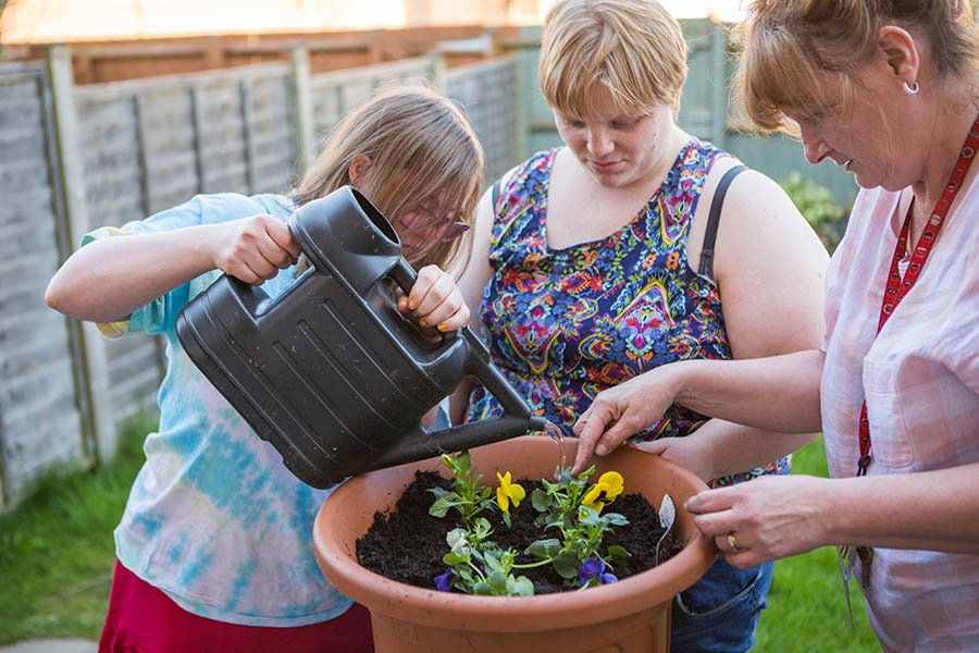 Gardening For adults with learning disability and mental health needs