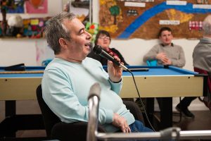 Singing for adults with learning disability and mental health needs