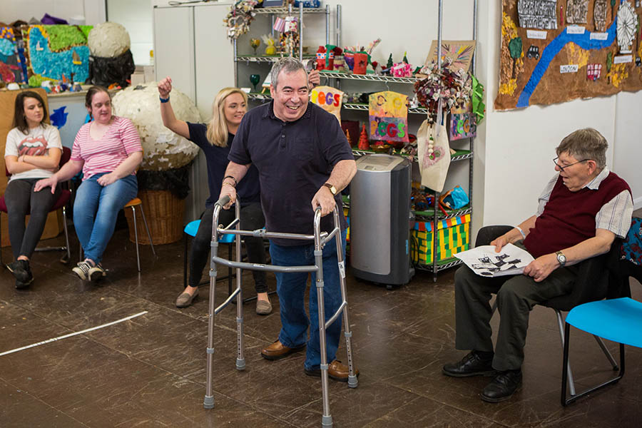 Storytelling For adults with learning disability and mental health needs