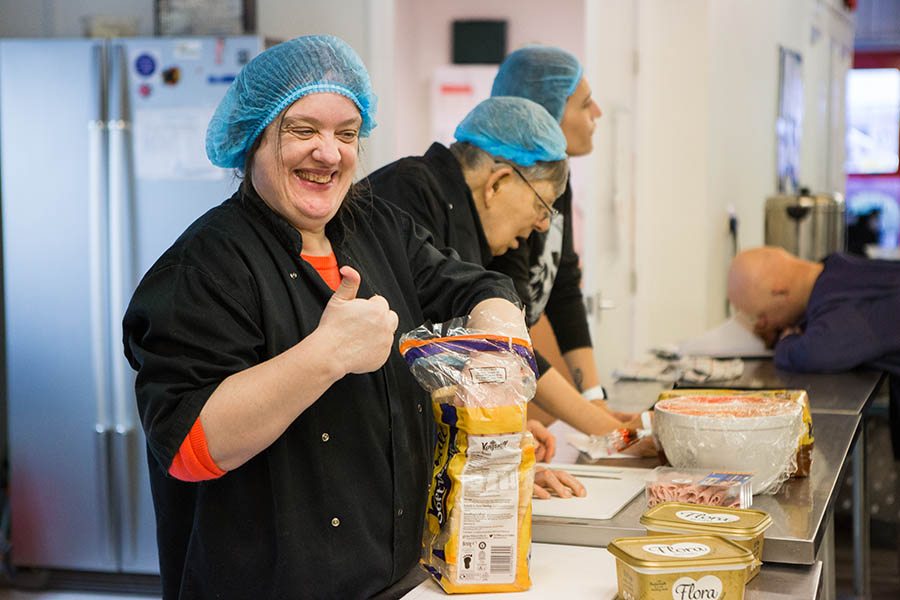 Cooking For adults with learning disability and mental health needs